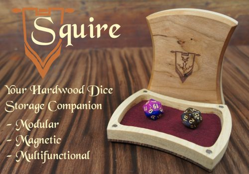 Squire Title shot